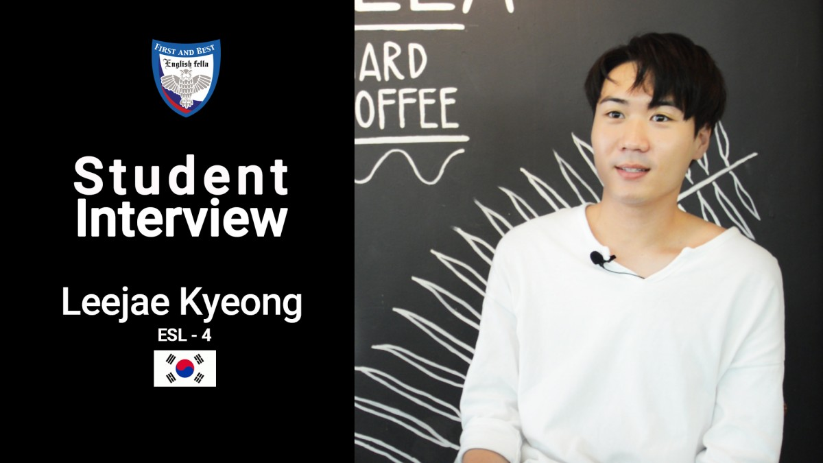 Student Interview - Leejae Kyeong