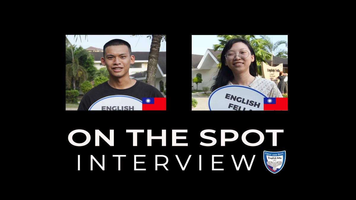 On The Spot Interview - Taiwanese Students