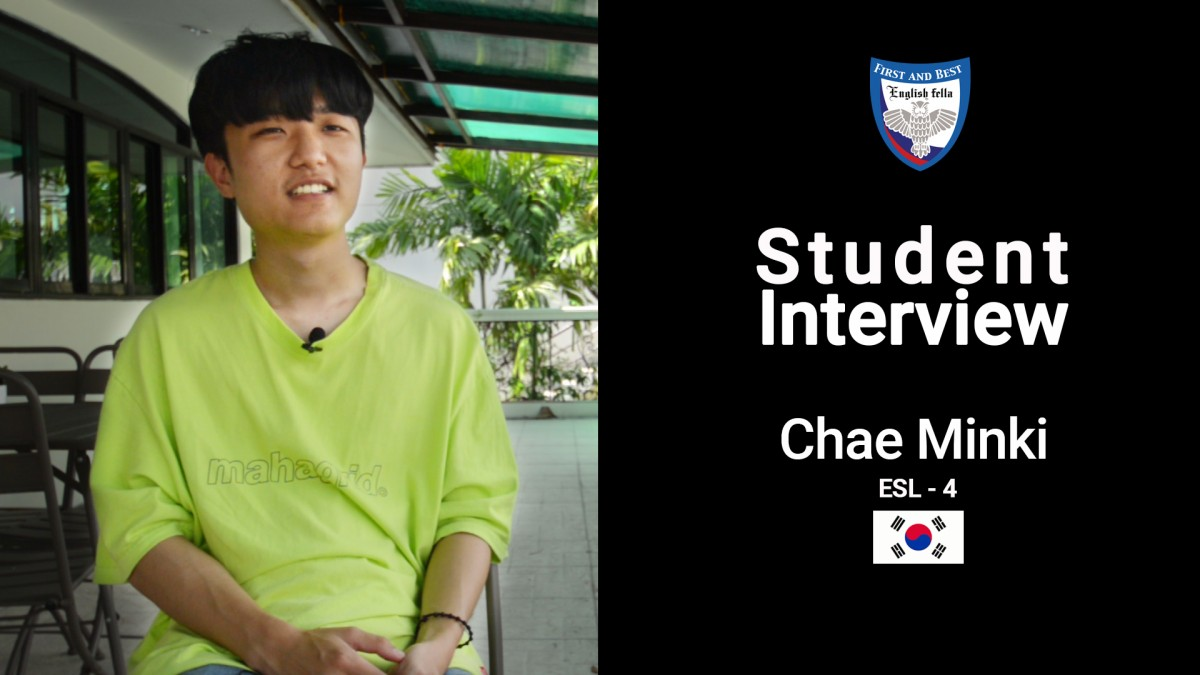 Student Interview i Chae Minki