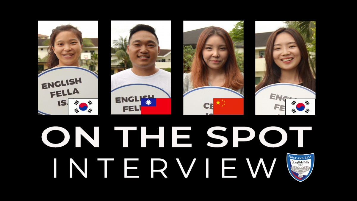 On the Spot Interview - Students of different Nationalities