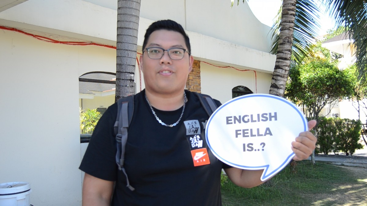 English Fella On the spot Interview