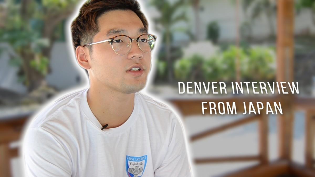 IELTS student (Denver) Interview from Japan