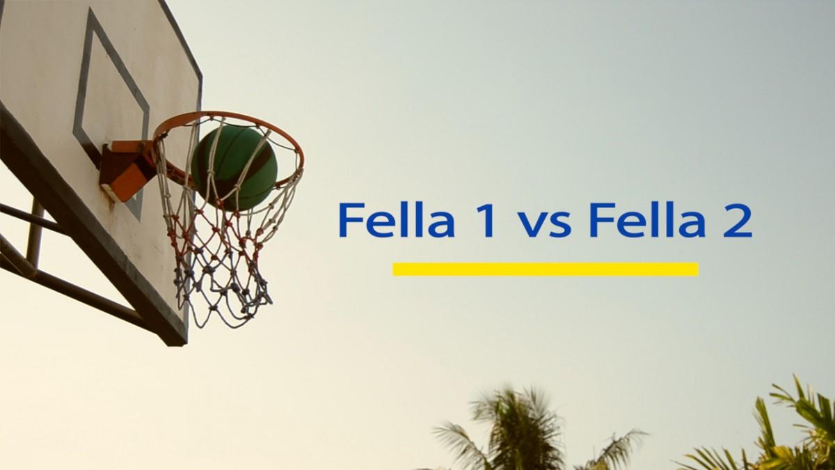 Fella 1 vs Fella 2 Men\'s Basketball