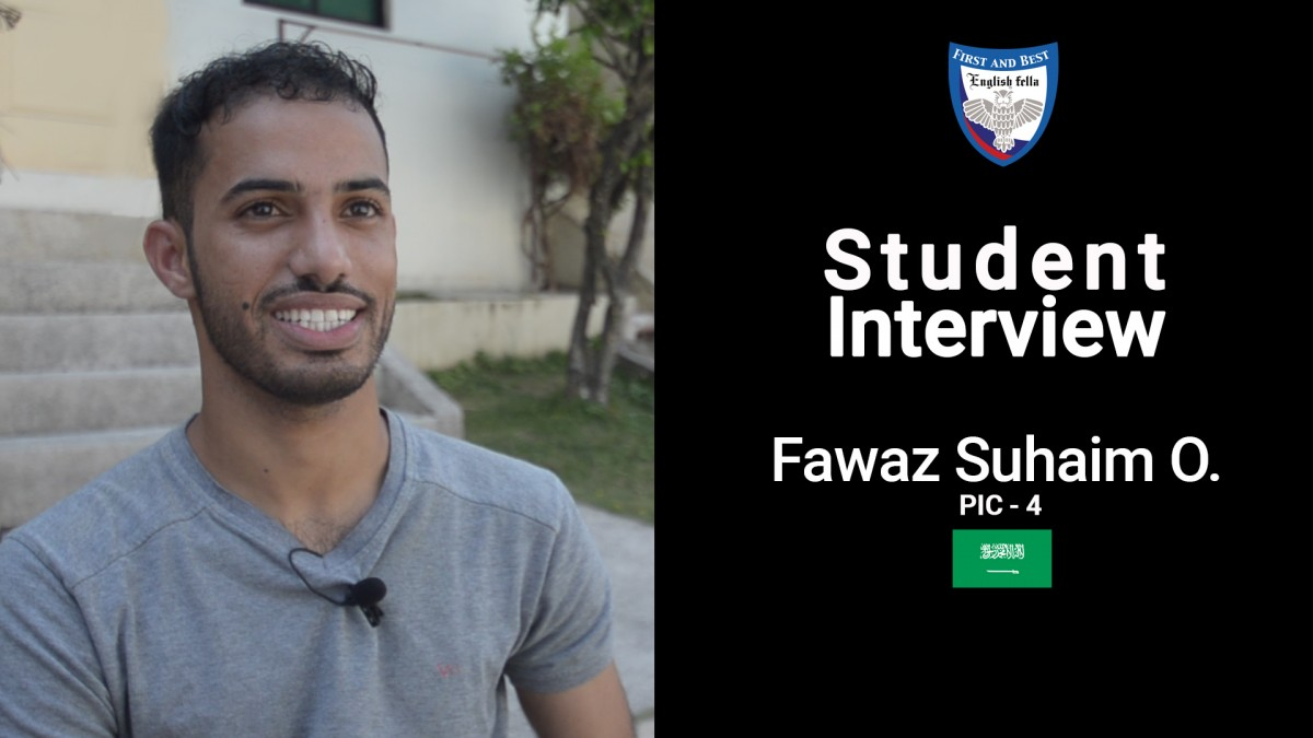 Student Interview - Fawaz Suhaim O.