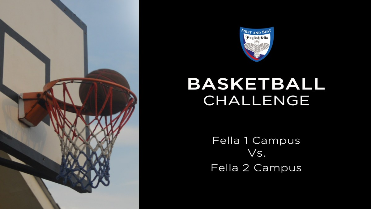 Basketball Challenge - Fella 1 vs. Fella 2